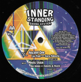 Luv Fyah - Ancient One / Version / Ras Amlak - Mystic Vision / Version (Inner Standing) 12""